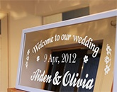 UJF-6042:Wedding board