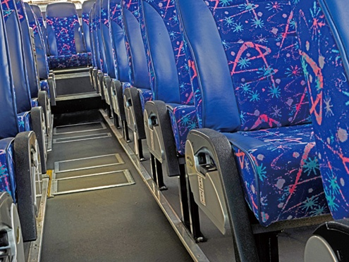 Tx300P-1800B:Seat fabrics