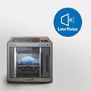 Silent designed 3D printer