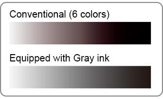 Gray ink
