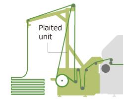 Feeding plaiter unit (OPT-J0487)