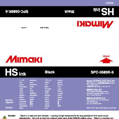 SPC-0589K HS Black