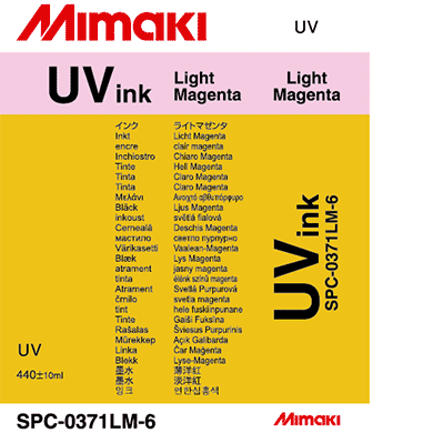 SPC-0371LM UV curable ink Light Magenta