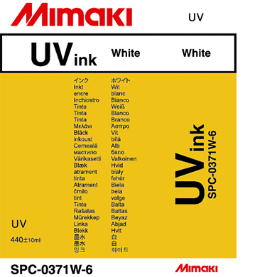 SPC-0371W UV curable ink White