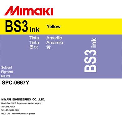 SPC-0667Y BS3 Yellow