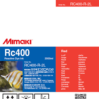 RC400-R-2L Rc400 Red