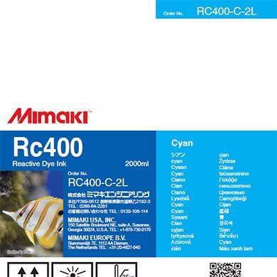 RC400-C-2L Rc400 Cyan