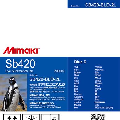 SB420-BLD-2L Sb420 Blue D