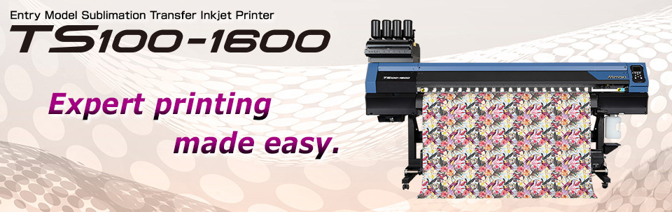 TS100-1600 | Entry Model Sublimation Transfer Inkjet Printer for Textile Application