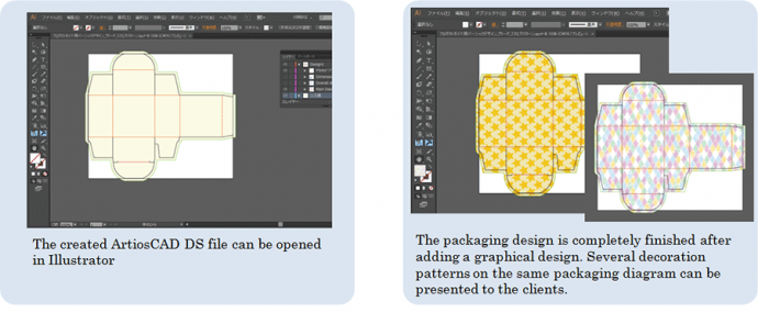 Adding graphical design with Illustrator