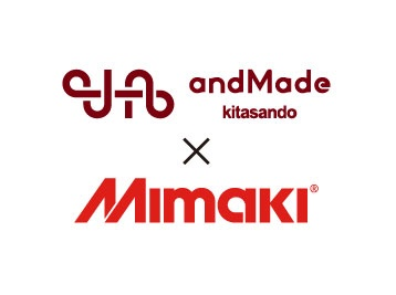 """Mimaki sublimation transfer system is active at the topic fashion FAB space """"andMade""""!"""