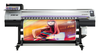 JV300 Series - High ink performance and machine technology that achieves outstanding speed
